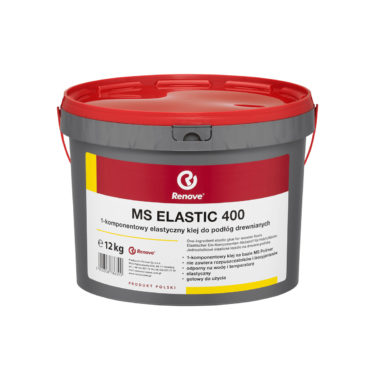 1- komponentowy elastyczny klej do podłóg drewnianych MS Elastic 400